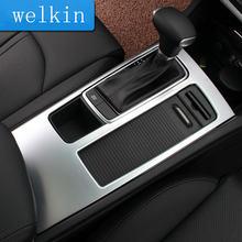 Автонакладка welkinry для kia optima k5 jf 2016 2017 Хромированная
