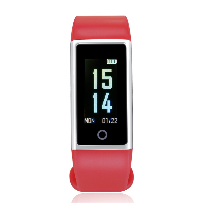 Smart Bracelet M18 Color Screen Blood Pressure Heart Rate Monitor ...