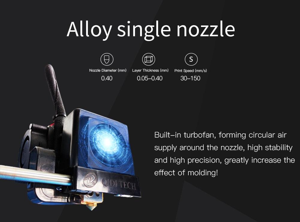 Qidi tech 3d impressora X one2 3.5