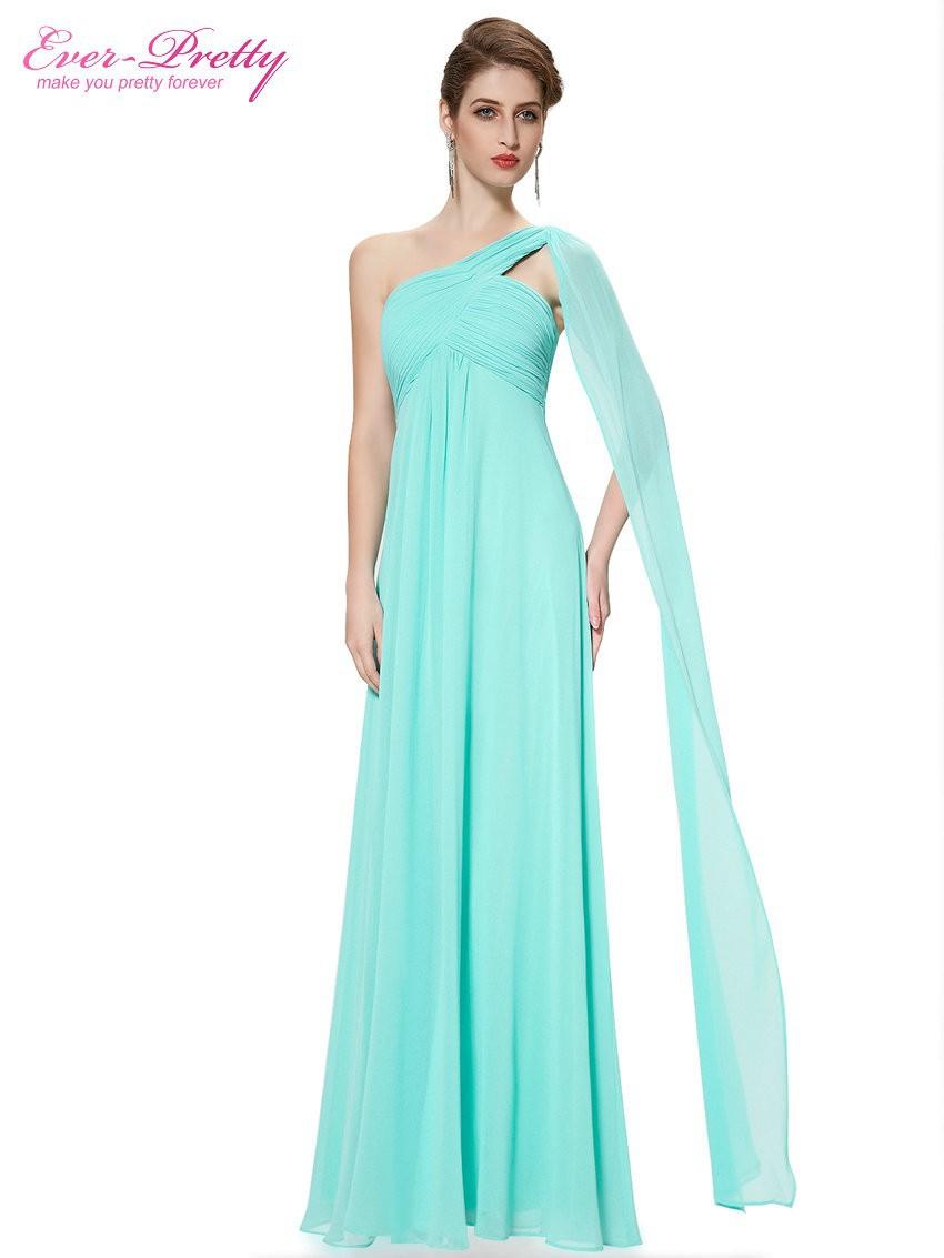 большая распродажа] элегантный вечерние платья на одно плечо оборками длинные формальные бальные платья тех довольно ep09816 2017 платье vestido де noiva