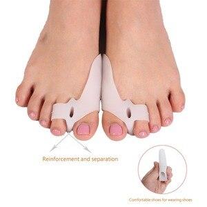 Image 4 - Corrector Hallux Valgus, separador de dedos, férula metatarsiana, ortesis, alivia el dolor, herramienta para el cuidado de los pies, 8 unidades