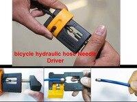 1 conjunto de freio da bicicleta ciclismo mangueira hidráulica motorista agulha para sram avid magura fórmula esperança bicicleta ferramenta de reparação de mangueira hidráulica kit