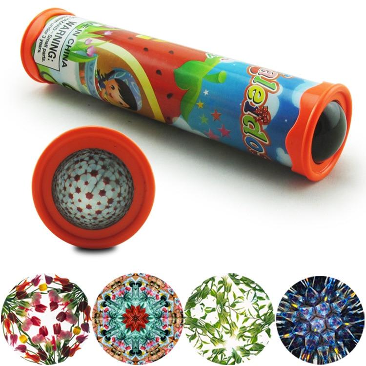 YouN DIY Rotierenden Kaleidoskop Kits Wissenschaft Experiment Pädagogisches