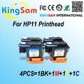 4 шт./компл. для hp11 C4810A C4811A C4812A C4813A Печатающая головка для HP11 печатающей головки для HP Designjet 70 HP100 HP110 HP500 HP510 500 ШТ.