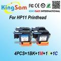 4 pçs/set para cabeça de Impressão hp11 C4810A C4811A C4812A C4813A para hp11 cabeçote de impressão para hp designjet 70 hp100 hp110 hp500 hp510 500 PS