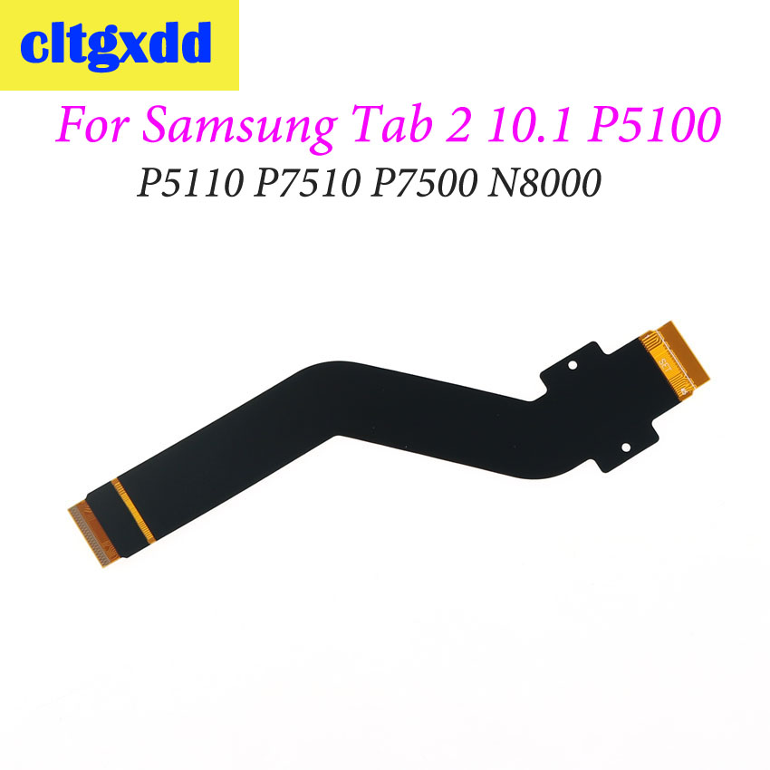 cltgxdd For <font><b>Samsung</b></font> Galaxy Tab 2 10.1 N8000 <font><b>P5100</b></font> P5110 P7510 P7500 LCD Display Connector Flex Cable <font><b>Motherboard</b></font> Parts image
