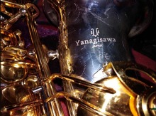 E Flat YANAGISAWA A-W037 Alto Saxophone Silver and Gold Plated Sax Professional Instruments Mouthpiece, Case, Accessories