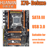 HUANAN Deluxe X79 2011 DDR3 PC Desktops Motherboards Computer Computer Motherboards Suitable For Server RAM Desktop