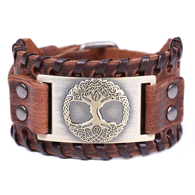 Tree Of Life - Genuine Leather Bracelet  8