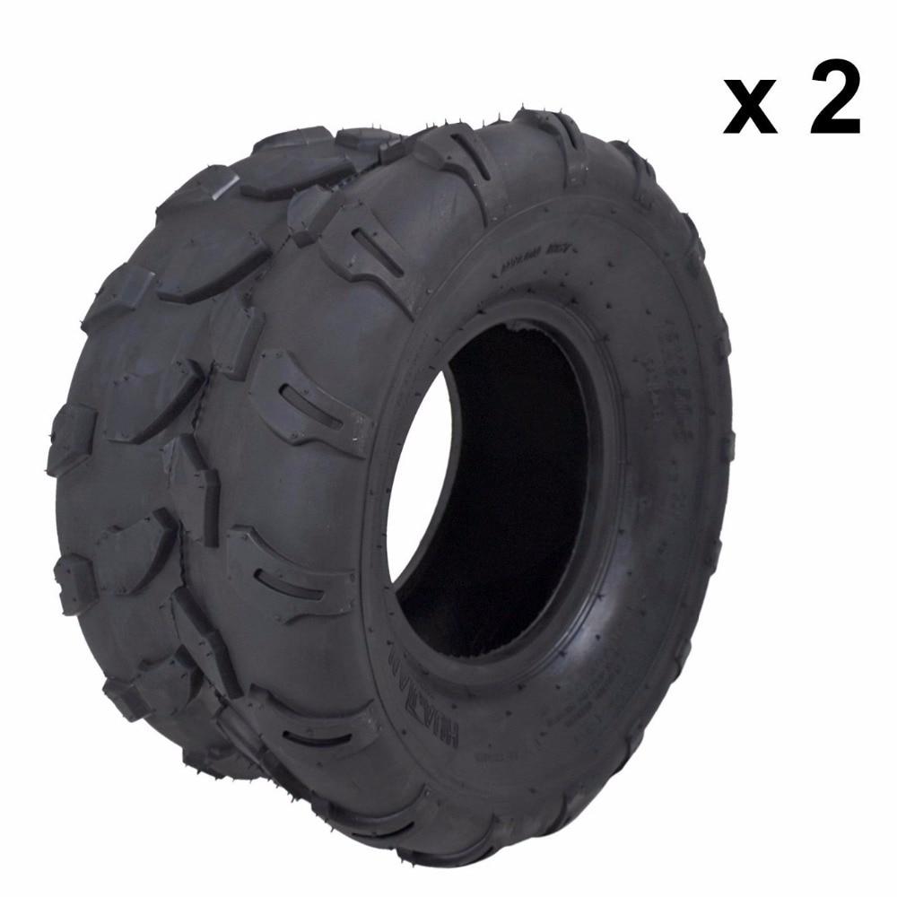 MYMOTOR 2X 4PLY 18 X 9.50 — 8″ inch Rear Back Tyre Tire 150cc Quad Dirt Bike ATV Buggy
