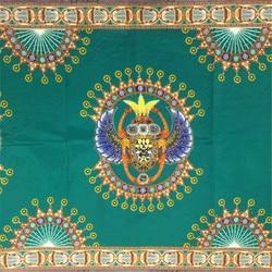 Wzory ankara African wax drukuj tkanina wyszywana kamieniami miękki wosk blok tkanina bawełna ankara wosk drukuje tkaniny do sukni 6 metrów
