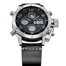 NAVIFORCE Luxury Brand Men Analog Digital Leather Sports Watches Men's Army Military Watch Man Quartz Clock Relogio Masculino naviforce watches men luxury brand quartz analog digital leather clock man sports watches army military watch relogio masculino