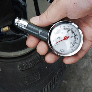Image 2 - Auto โลหะรถบรรทุกรถแข่งรถเครื่องวัดความดันยางรถยนต์ยาง Meter Tester การตรวจสอบระบบเครื่องมือวัดยาง