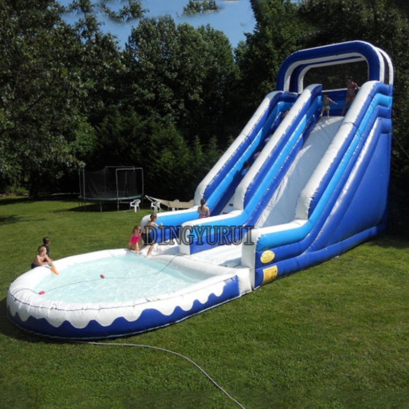 Inflatable Slide Pool Tesco: China Sales Inflatable Water Slide For Pool In Inflatable