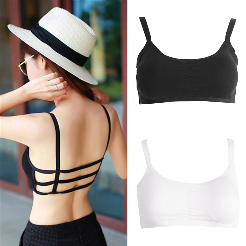 HOT!!!New Fashion Hollow Out stripe Camis Women tops Bra Crop Top Tank Beach Vest Sexy F05
