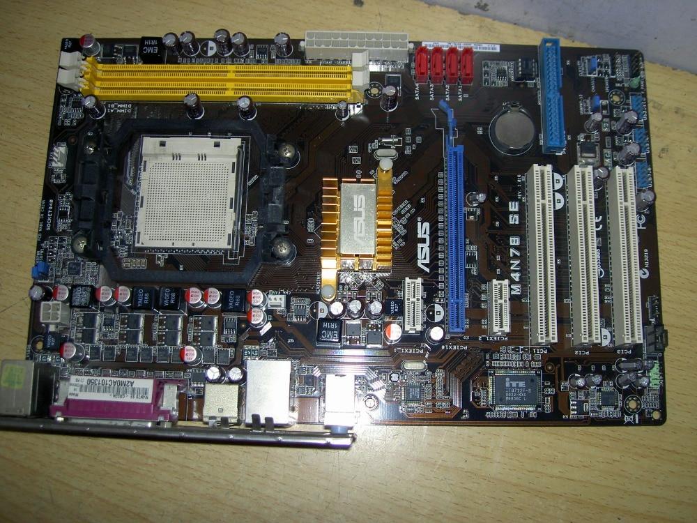 original motherboard M4N78 SE Socket AM2 AM2 AM3 DDR2 All solid desktop motherboard Free shipping