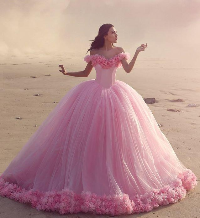 337fa4c0b5c 2017 Quinceanera Dresses Mint Green Ball Gowns Off the Shoulder Corset Hot  Selling Sweet 16 Prom Dresses with Hand Made Flowers-in Quinceanera Dresses  from ...