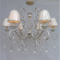 HGhomeart Nordic Antique Iron Chandelier Lighting Lustre Design Luxury Chandeliers Lamp E14 Dining Room Chandeliers Luminaria