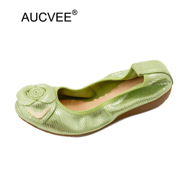 Woman Shoes 2018 Spring Summer Flats Slip On Shoes for Women Genuine Leather Baleriny Woman Mocasines Mujer Lady Ballerina Shoes cresfimix women cute spring summer slip on flat shoes with pearl female casual street flats lady fashion pointed toe shoes