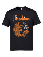 Hiroshima Carp Koi Goldfish T Shirt Top Quality 3D Print Japanese Tshirts Men 100% Cotton O-Neck Short Sleeve Casual Tops Tees
