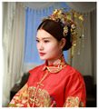 Chinese Vintage Style Traditional Phoenix Coronet Tassel Hair Clasp Cheongsam  Bridal Headdress Wedding Hair Accessory