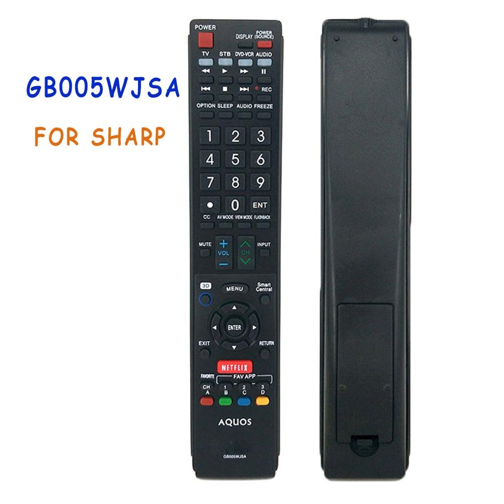 Remote Control GB005WJSA For SHARP TV STB DVD-VCR AUDIO LC90LE745U LC80LE844U LC80LE632U LC80LE633U LC70C8470U mandos garaje