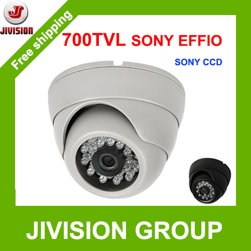 Original True SONY EFFIO 700TVL CCD Camera Dome Infrared plastic indoor IR Dome CCTV Camera night vision 24 IR LED SONY CCD cam hd 1200tvl cmos ir camera dome infrared plastic indoor ir dome cctv camera night vision ir cut analog camera security video cam