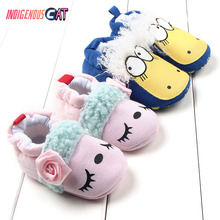 Newborn Shoes Fashion Soft Soled First Walking Baby Girl The Cotton-padded Infant Prewalker