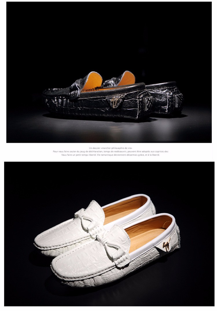2016 KUYUPP Fashion Genuine Leather Men Loafers Casual Slip On Flats Summer Flat Heels Men Driving Shoes mocassin homme H48 (10)