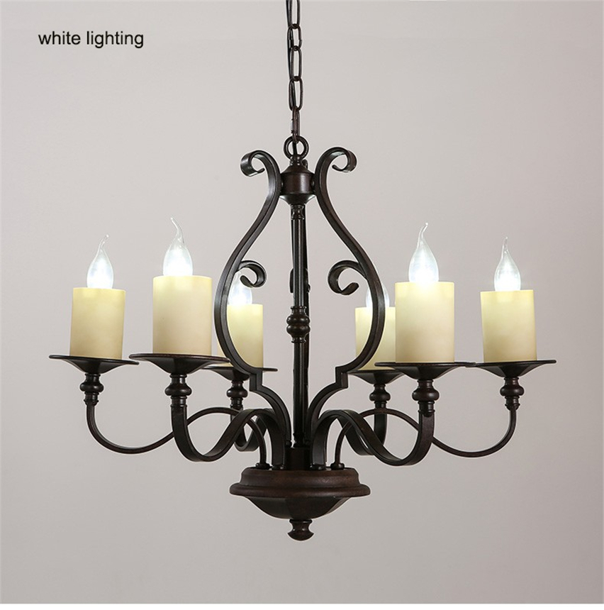 GDW Modern Pendant Lamp LED Candle Chandelier Kevin Reilly Altar