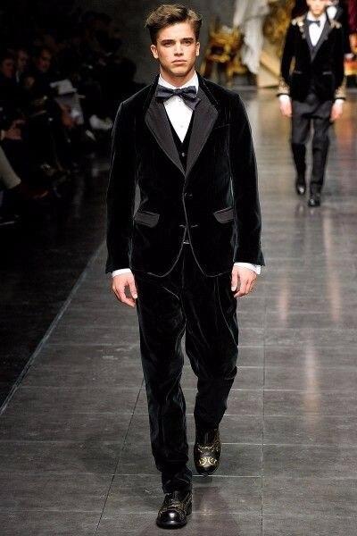 Последние конструкции пальто брюки черный бархат мужской костюм Slim Fit 3 предмета Костюмы смокинг жениха индивидуальный заказ Пром пиджак Те