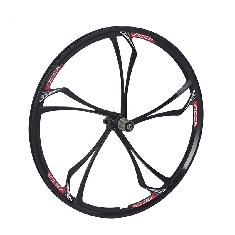 26 VTT roue vélo une pièce roue accrue couteau en alliage de magnésium roues
