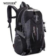 WEIXIER Softback модный красивый мужской студенческий водонепроницаемый нейлоновый рюкзак Mochila Escolar дорожная сумка рюкзак прогулочная сумка