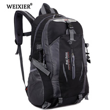 WEIXIER Softback Fashion Handsome 2019 Mens Student Waterproof Nylon Backpack Mochila Escolar Travel Bag Walking