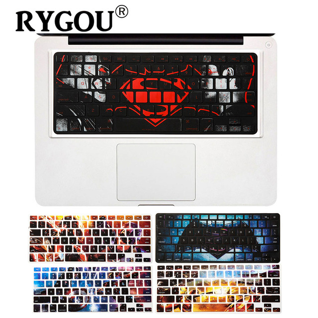 Super hero series keyboard stickers for macbook air 13 inch keyboard cover for macbook pro 13
