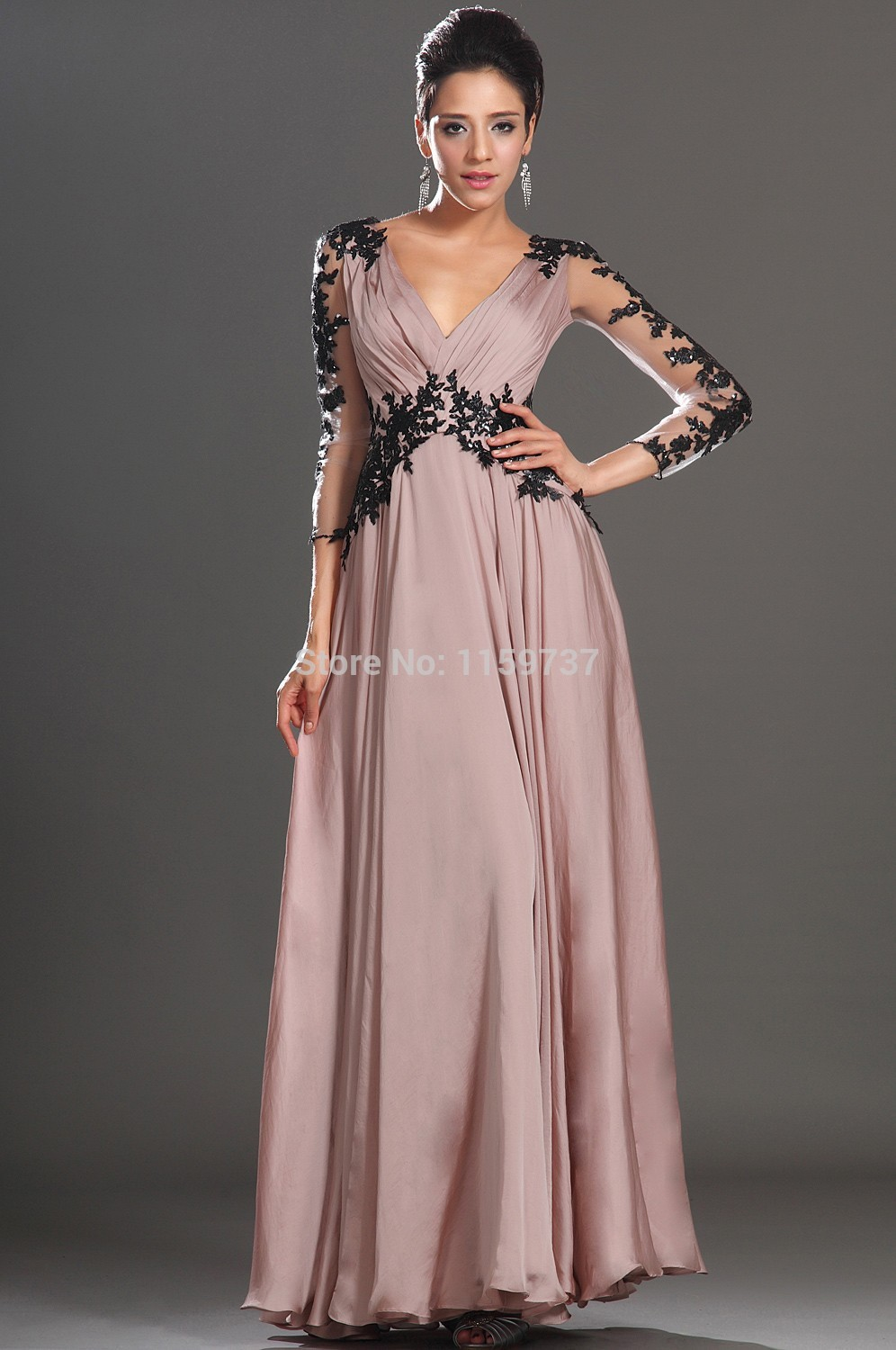 Online Shop Short Dresses For Prom Chinese Evening Maxi Dress ...