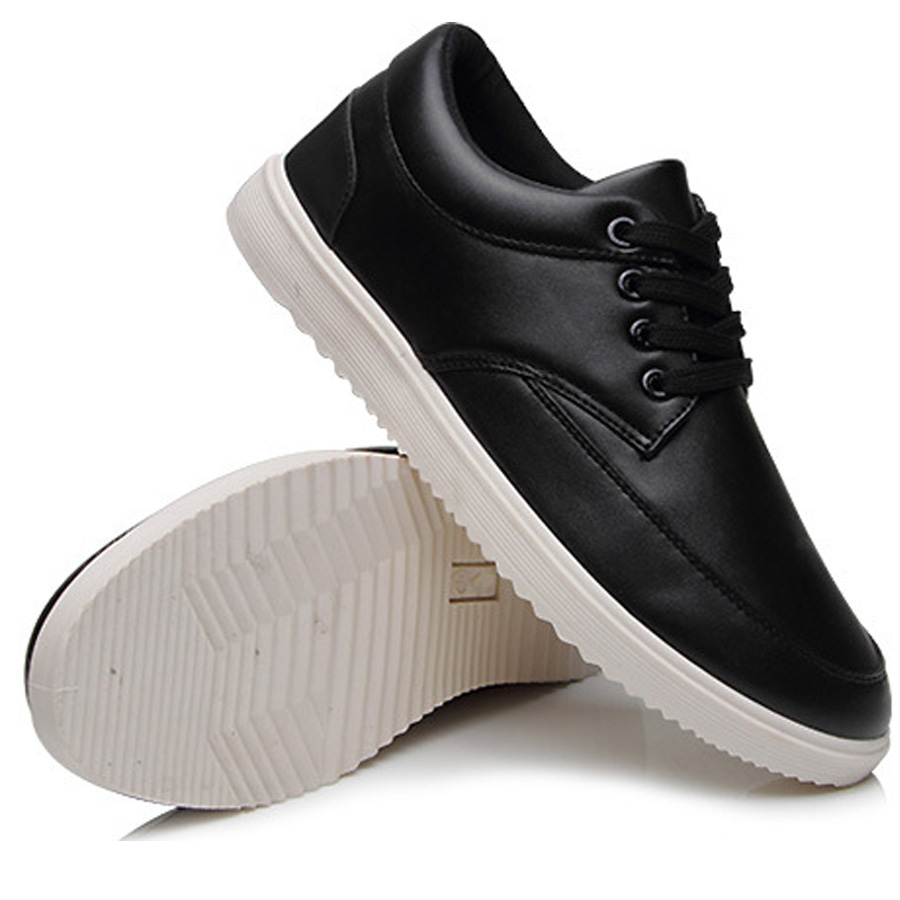 Hot Sale Men Casual Breathable Spring Autumn Single Shoes Solid