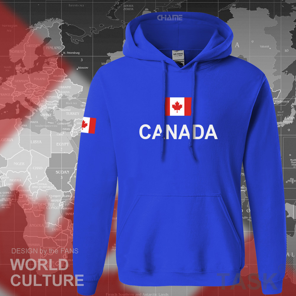 Canada 17 hoodies men sweatshirt sweat new streetwear clothing jerseys footballer tracksuit nation Canadians flag fleece CA 9