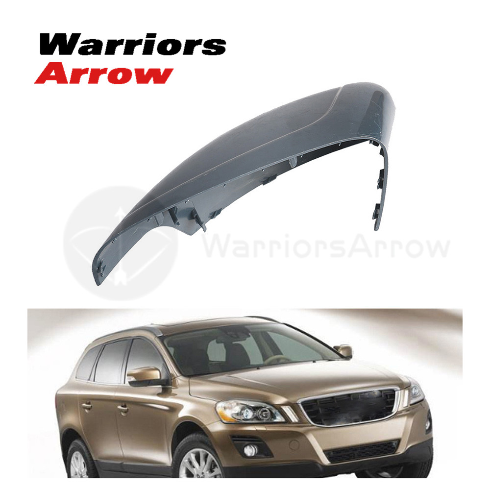 Right Door Rear View Wing Mirror Cover Cap Trim For VOLVO XC60 2010-2013
