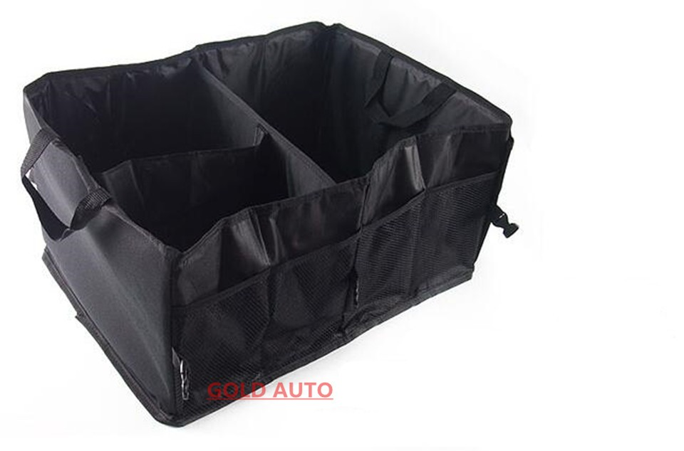 Car Storage Box Car Trunk Folding Storage Bag Car Glove Box Car Article Storage Car Kits Practical And Durable Multifunction 3