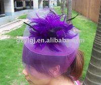FASCINATOR Dances Races Weddings Party HAT Costume Purple H020