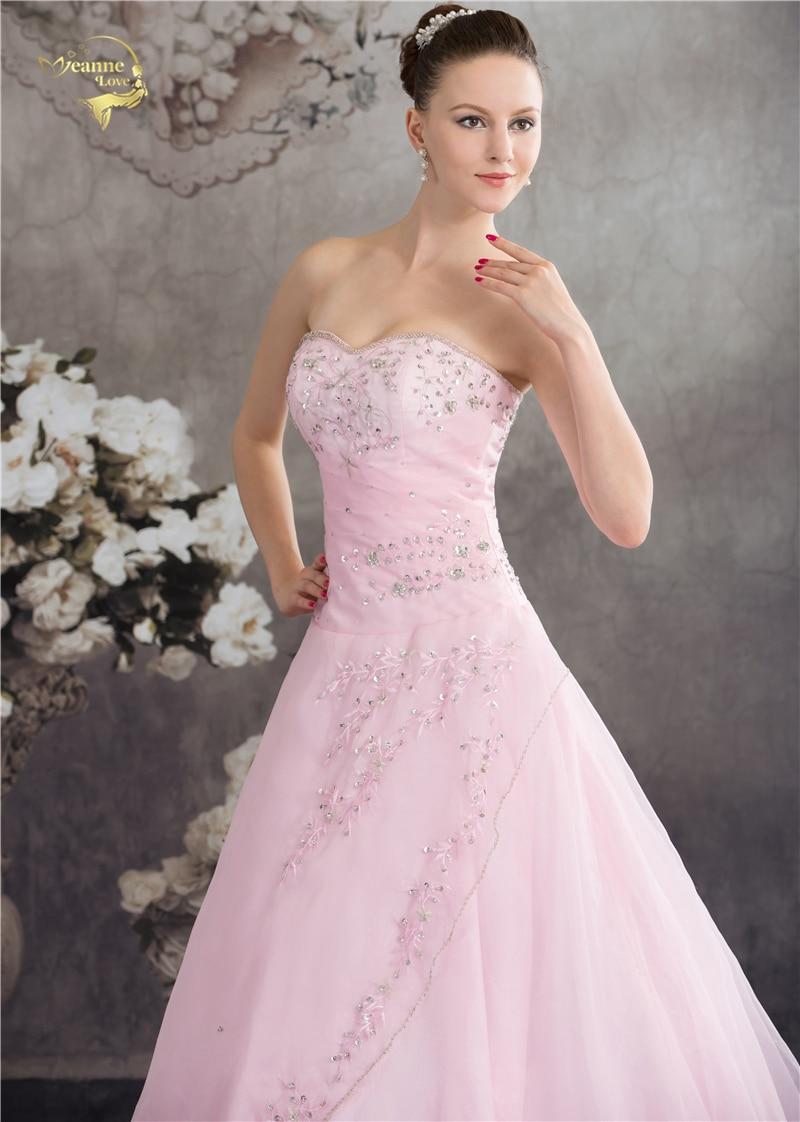 Vestido De Debutante Klasični stil Dušo Plava Ružičasta Crta - Haljina za posebne prigode - Foto 5