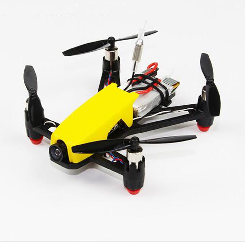 HOBBYMATE Q100 Micro FPV Brushed RC Quadcopter Frame Kit Combo with ...