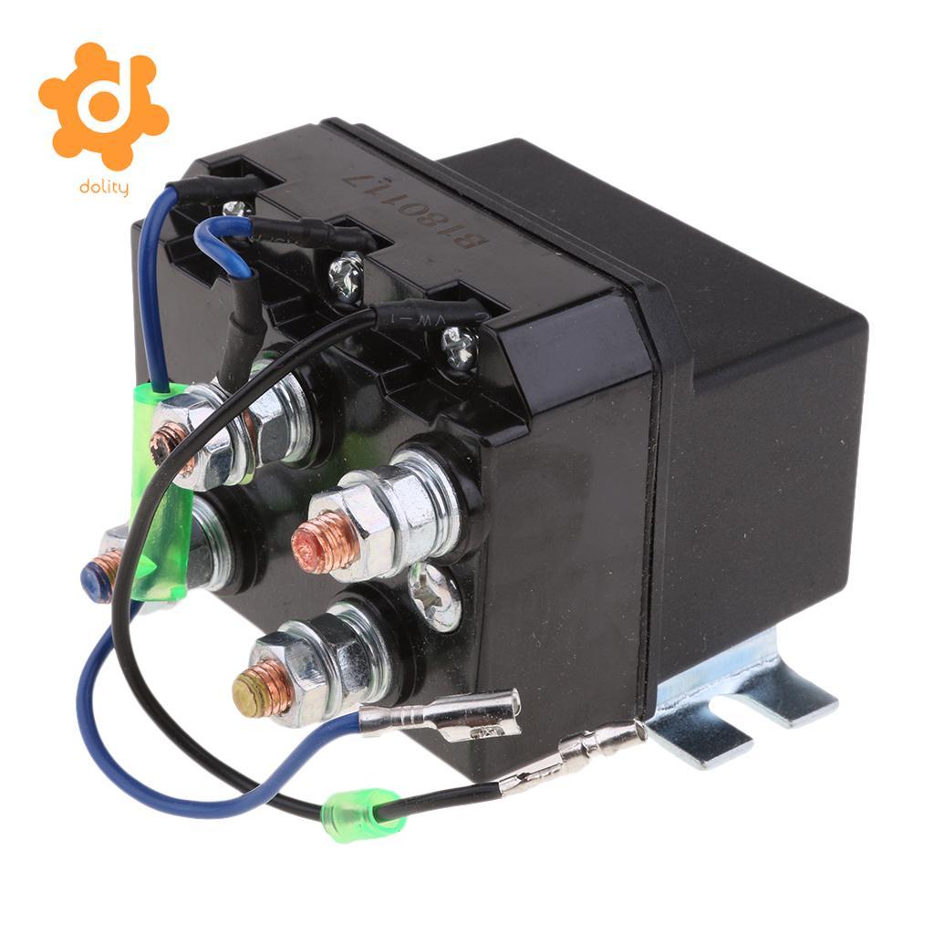 200 amps dc winch motor reversing solenoid relay switch 12 volt200 amps dc winch motor reversing solenoid relay switch 12 volt contactor