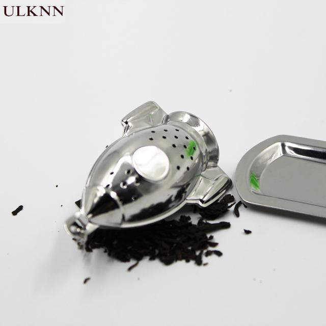 Tea Infuser Strainer Stainless Steel health 4options model life Loose Leaf Herbal Spice Filter Rocket Teapot tea