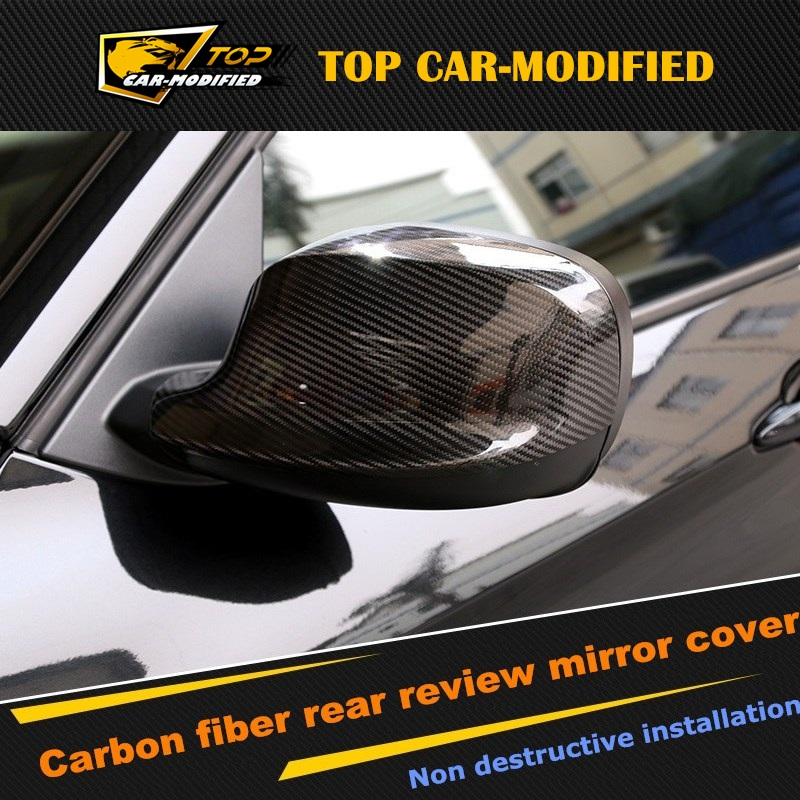 Free shipping Replacement Rearview Mirror Cover Carbon Fiber F30 Mirror Covers Cap for BMW X1 2010-2012 m320 metal bass in ear stereo earphones headphones headset earbuds with microphone for iphone samsung xiaomi huawei htc