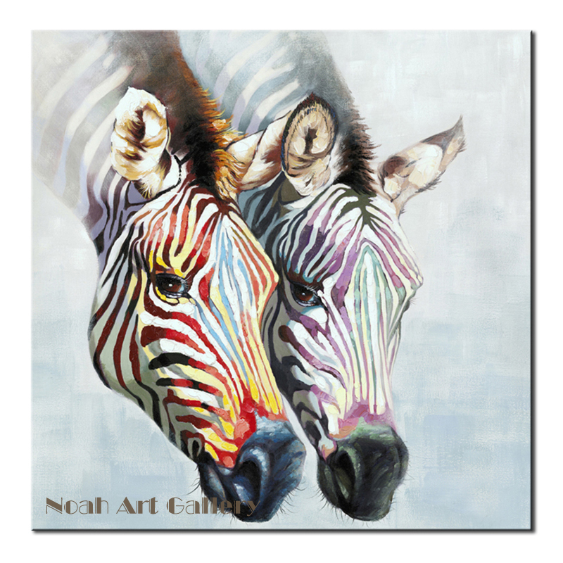 zebra oil painting - photo #25
