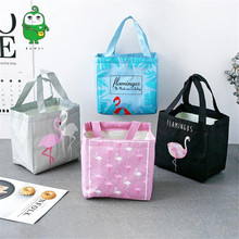 Lunch Bags For Women Large Waterproof Sac Thicken Tote Box Bag Aluminum Foil Loncheras Para Mujer