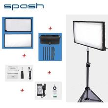 Spash FL-3060A LED Luz de Vídeo 85 W 448 Perlas 3200 K-5500 K Iluminación de la Fotografía Estudio LLEVADO Panel de Luz Lámpara de luz de Control Remoto