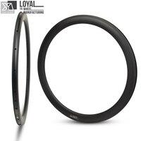 27mm Wider More Aero 50mm Carbon Rim 700c For Road Bike Gravel Bike Cyclocross Clincher Tubular Bicycle Rim 18/20/21/24 Hole